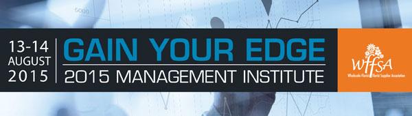 2015 Management Institute
