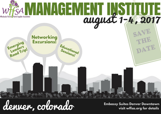 2017 Management Institute Save The Date